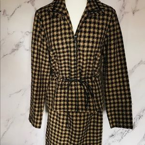 2 piece tweed suit Vintage size 10